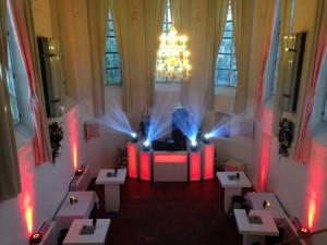 FINCH discoteam bruiloft DJ show Commanderije (Kasteel Montfoort), Montfoort