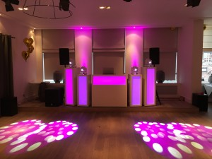 bruiloft DJ show Brasserie Joris IJsselstein