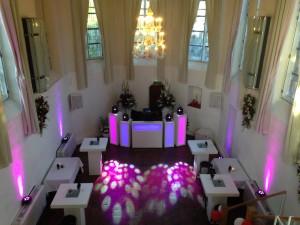 bruiloft DJ show Commanderije Heeren van Montfoort