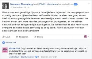 recentie Samereh Bloemberg facebook 2017-2