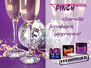 kerst 2014 background champagne
